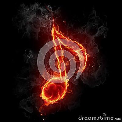 Musical note symbol.