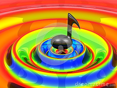 Musical note on Waves