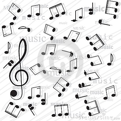 Free Musical Notes. Stock Images - 30035064