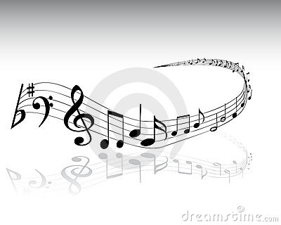 Musical notes 4