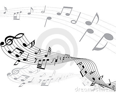 Musical Notes Stock Image - Image: 6056571