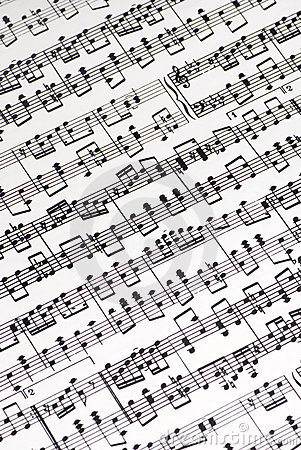 Free Musical Score Royalty Free Stock Images - 1688549