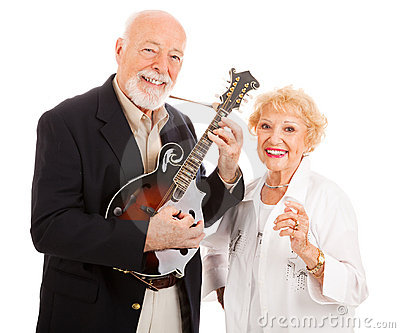 Musical Senior Couple