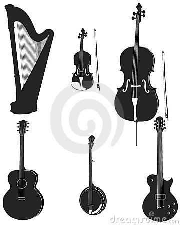 Musical silhouettes 1