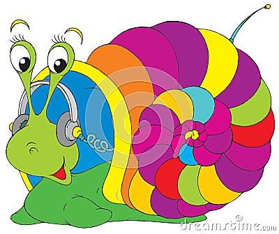 Musical snail