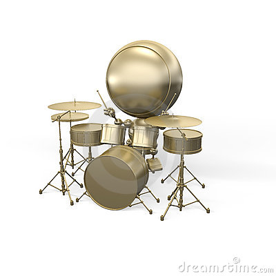 Musician - drummer does music