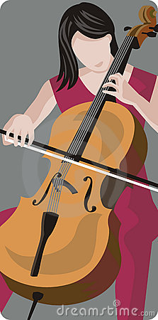 Free Musician Illustration Series Royalty Free Stock Image - 2617586