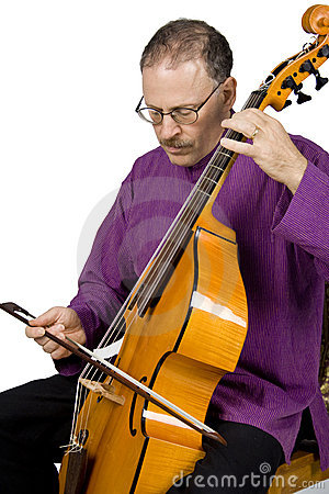 Free Musician Playing An Instrument Royalty Free Stock Photography - 3281787