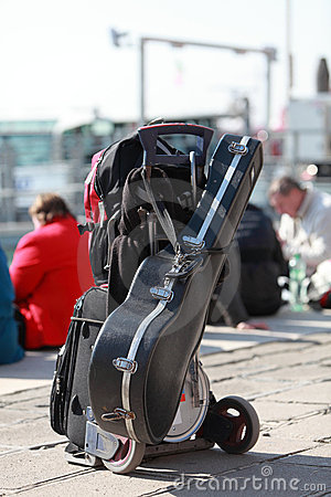 Musician s luggage