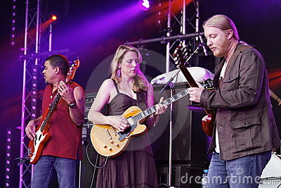 Musician Tedeschi Trucks Band Editorial Photography
