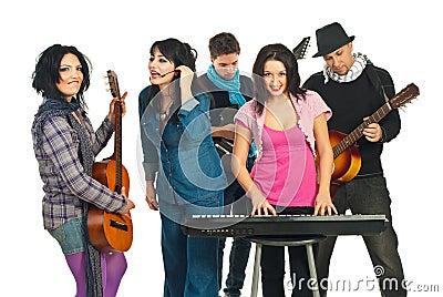 Musicians band
