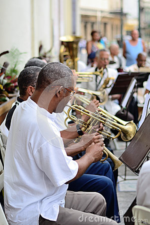 Free Musicians With A Trumpets In An Orchestra. Stock Image - 51760661