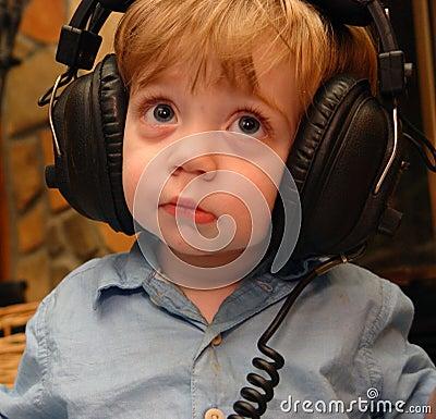 Musik-Junge