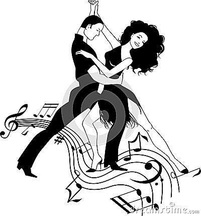 Musique de salsa illustration de vecteur image 43281696 - Musique danse de salon gratuite ...