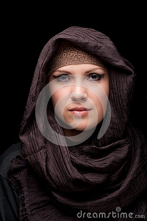 Muslim beautiful girl