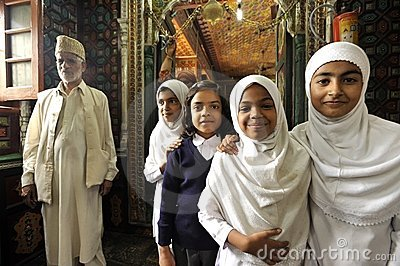 Muslim children Editorial Stock Image