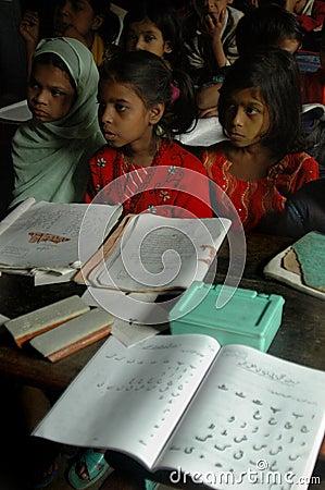 Muslim Education Editorial Stock Photo