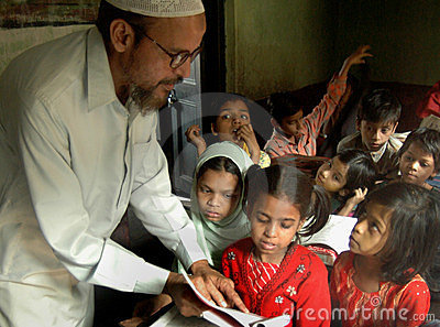 Muslim Education Editorial Image