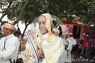 Muslim Festival May 21, 2011 in mertola Editorial Image