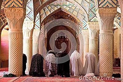 Muslim Friday pray in Prayer Hall