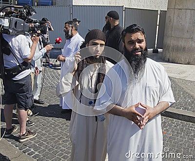 Muslim Fundamentalists Editorial Photography