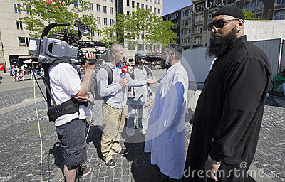 Muslim Fundamentalists Editorial Photography