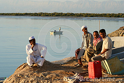Muslim men Editorial Photography
