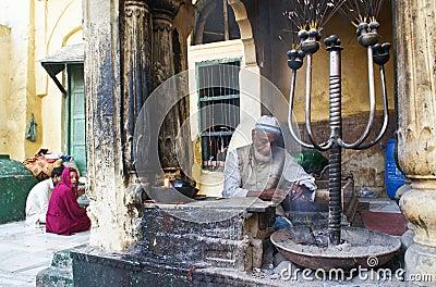 Muslim shrine Nizamuddin in New Delhi Editorial Stock Image
