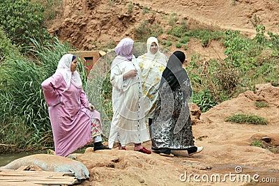 Muslim women Editorial Stock Image