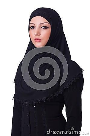 Muslim young woman wearing hijab
