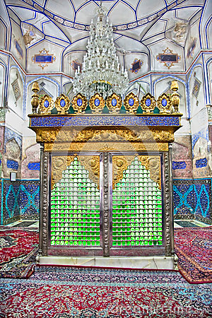 Muslims tomb inside Bohg-e Harun Vilayet Shrine