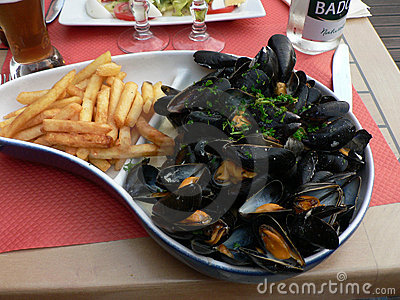 Mussel and frites