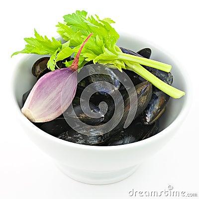 Mussels preparation