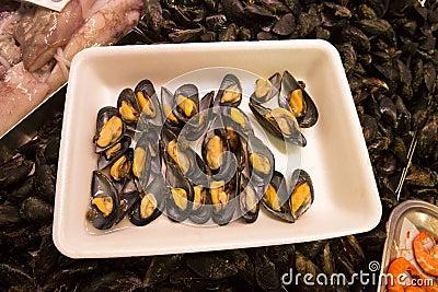 Mussels - Seafood - Fruits de Mer