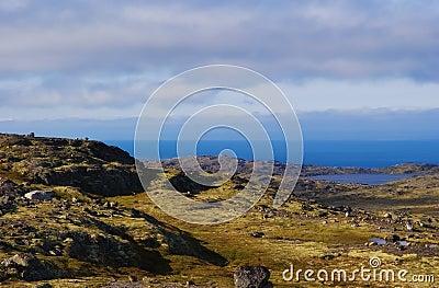 Musta Tunturi. Ridge on the Kola Peninsula
