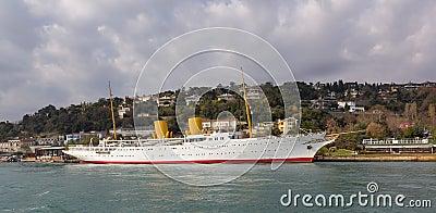 Mustafa Kemal Ataturk yacht MV Savarona Editorial Photography