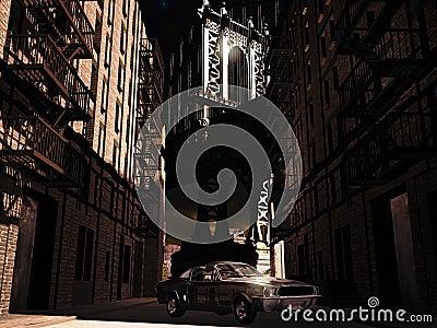 Mustang 1967 em Manhattan