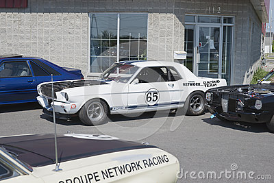 Mustang race car Editorial Photography