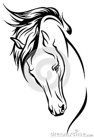 Free Mustang Vector Royalty Free Stock Image - 24434026