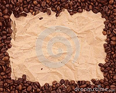 Muster mit Kaffee