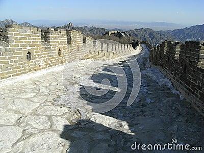 Mutianyu stor vägg