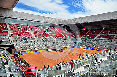 Mutua Open Madrid Editorial Stock Photo