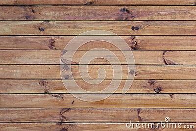 Muur met horizontale raad