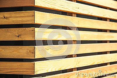 Muur Van Houten Panelen Royalty-vrije Stock Foto - Afbeelding ...
