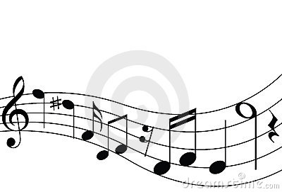 Muzieknoten en Personeel