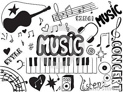 Muzyk doodles