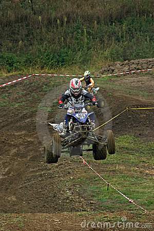 MX rider Editorial Stock Image