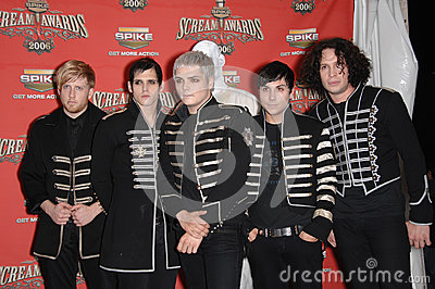 My Chemical Romance Editorial Stock Photo