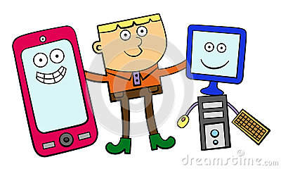 My electronic friends