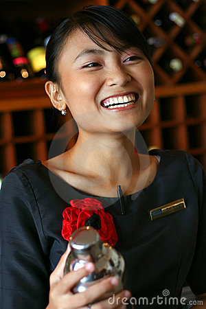 My favorite bartender/butler/waiter